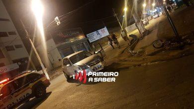 Photo of MOTOCICLISTA FICA FERIDO EM COLISÃO NA AV. CASTELO BRANCO