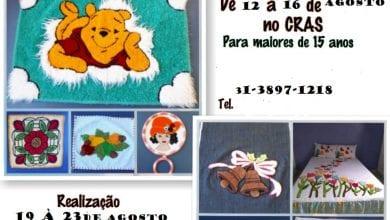 Photo of CURSO GRATUITO DE PONTO RUSSO MODERNO EM SÃO MIGUEL DO ANTA