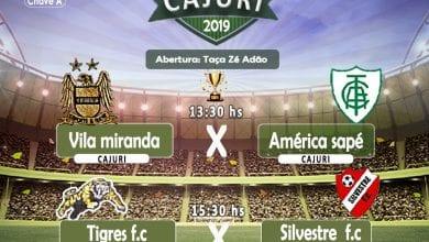 Photo of Começa neste domingo (08) o 1º Campeonato Intermunicipal de Cajuri 2019
