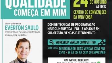 Photo of Megapalestra em Viçosa: Qualidade começa em mim