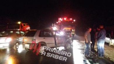 Photo of Duas pessoas ficam feridas em acidente na estrada que liga a Visconde do Rio Branco