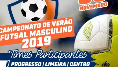 Photo of Participe do Campeonato de Verão Futsal Masculino 2019 de Ervália