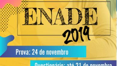 Photo of Enade 2019 acontece neste domingo e estudantes devem ficar atentos às recomendações