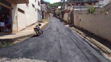Photo of Programa de asfaltamento 'Diversas Ruas e Diversos Bairros' tem continuidade no município