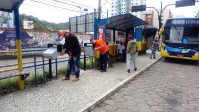 Photo of Lixeiras estão sendo instaladas pelas ruas de Viçosa