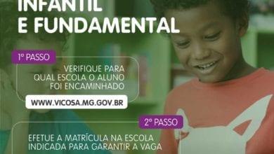 Photo of Escolas de ensino infantil e fundamental abrem período de matrícula nesta segunda-feira (9)