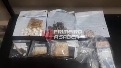 Photo of Quatro homens foram presos com drogas em bar no São Sebastião