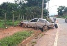 Photo of Homem fica ferido em acidente na estrada que liga a Teixeiras