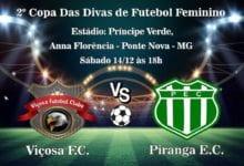 Photo of Viçosa Futebol Clube em busca do bi na Copa das Divas de Futebol Feminino