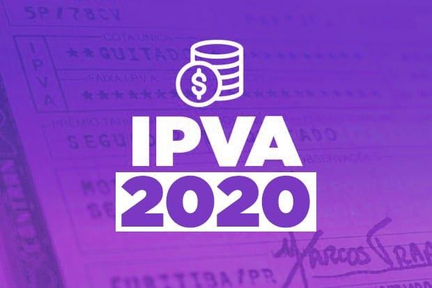 Vencimento ipva mg 2020